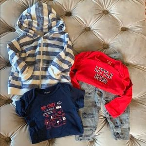 Carter's Little Hero 🚒 Set (6-9 months)
